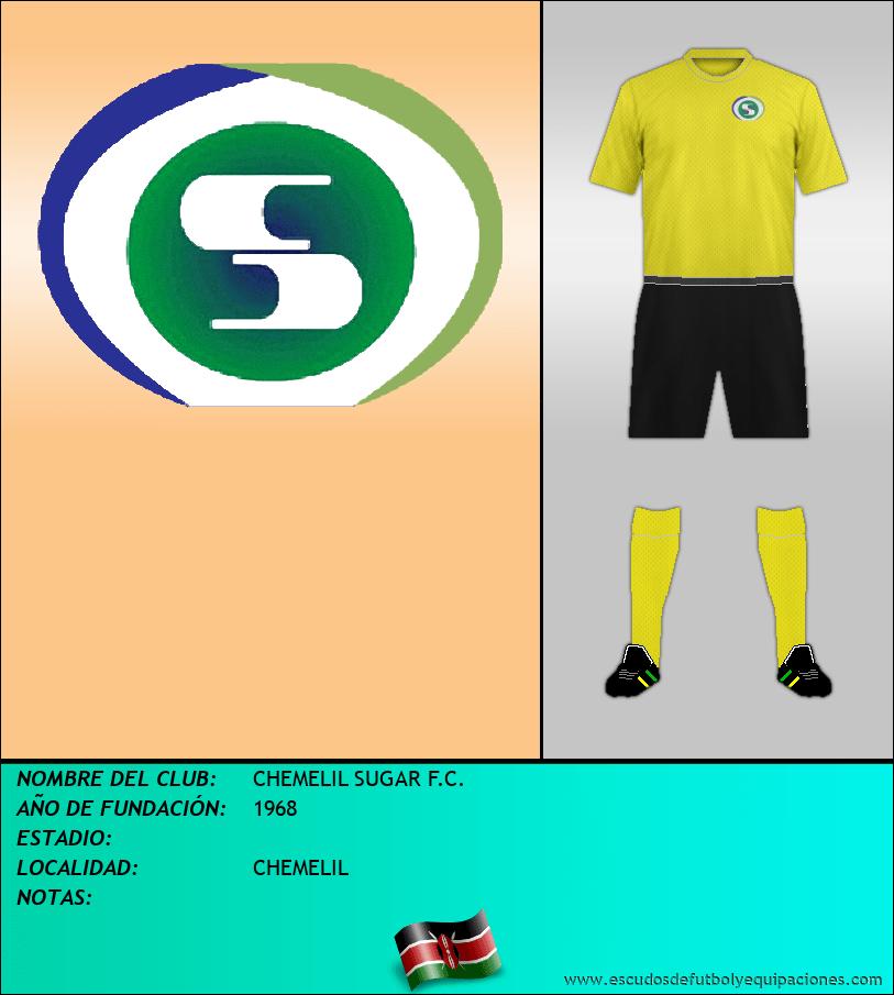 Escudo de CHEMELIL SUGAR F.C.