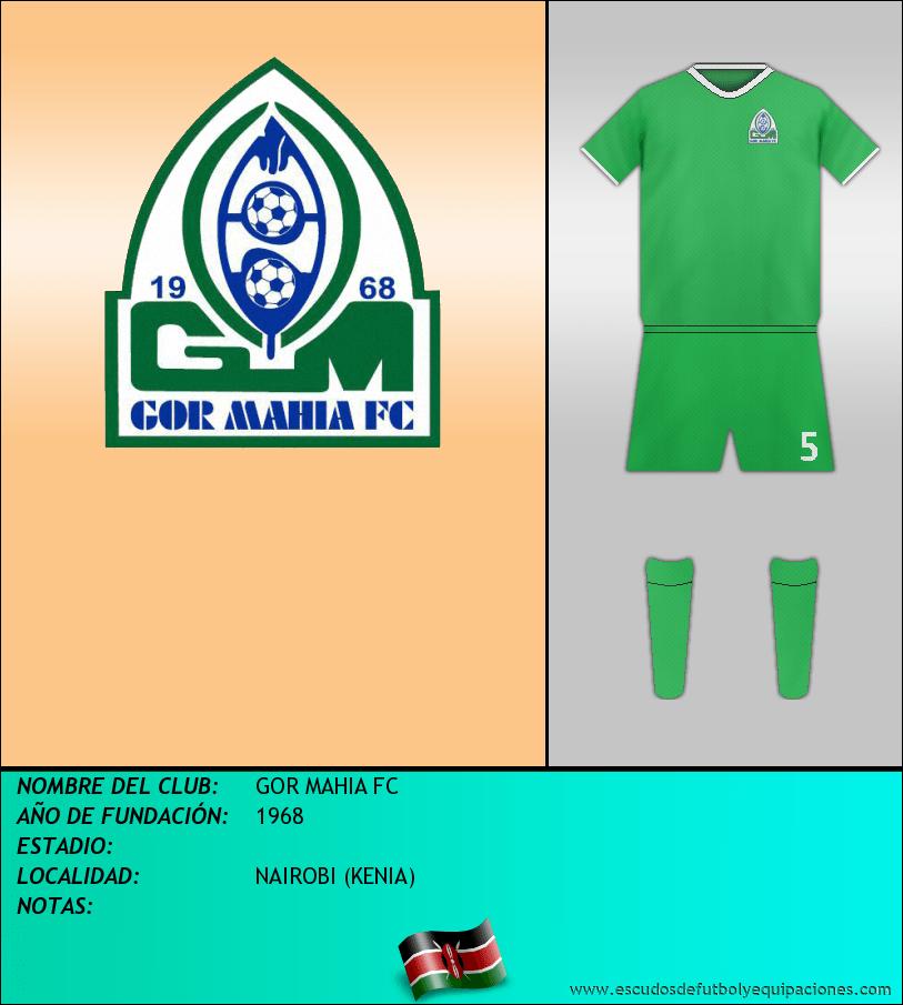 Escudo de GOR MAHIA FC