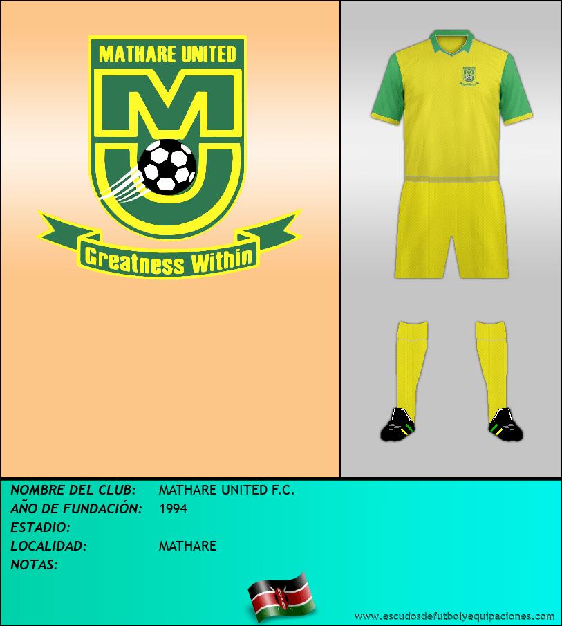 Escudo de MATHARE UNITED F.C.