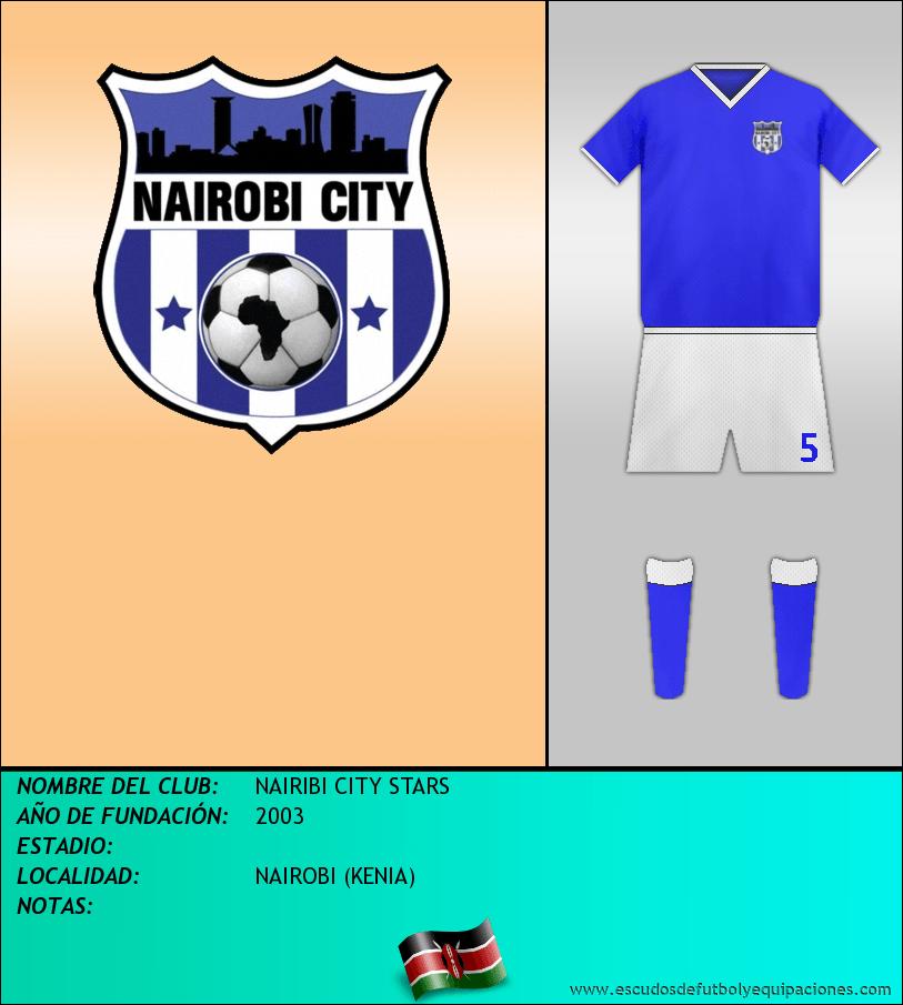 Escudo de NAIRIBI CITY STARS