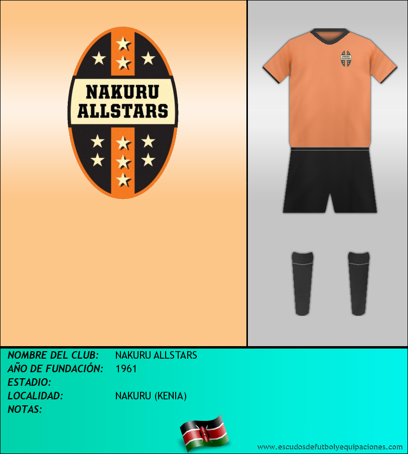 Escudo de NAKURU ALLSTARS
