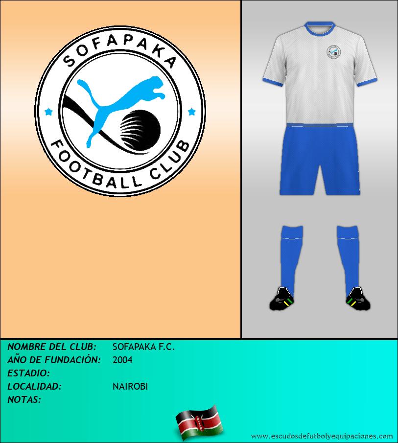 Escudo de SOFAPAKA F.C.