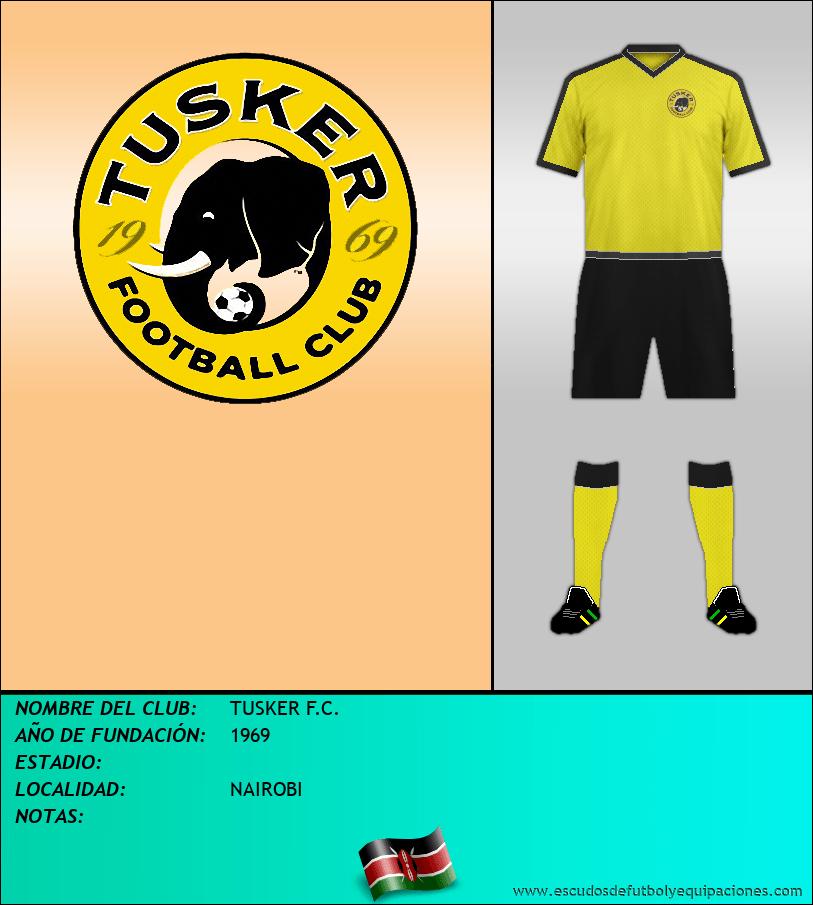 Escudo de TUSKER F.C.
