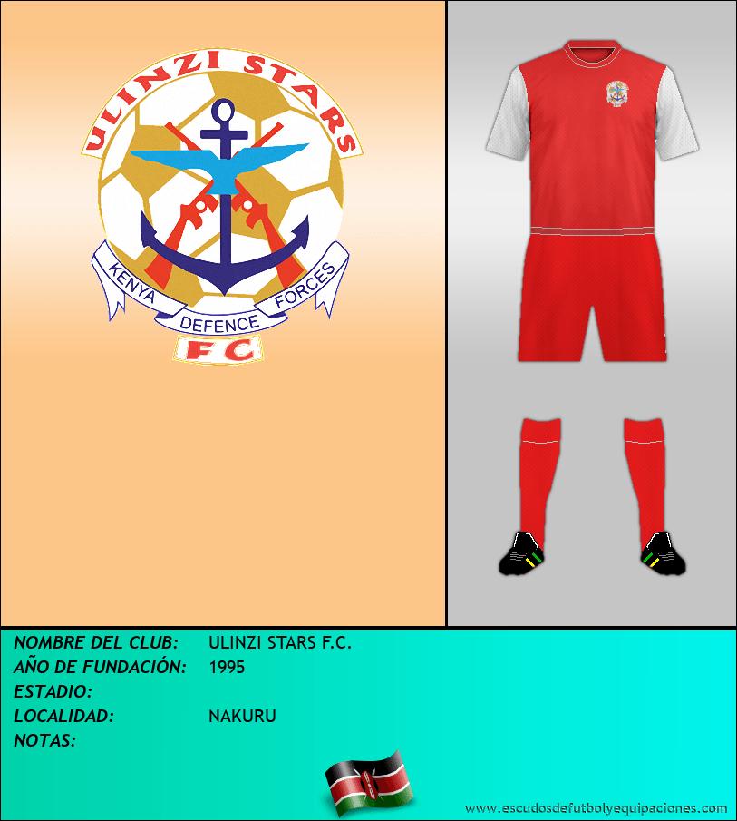 Escudo de ULINZI STARS F.C.