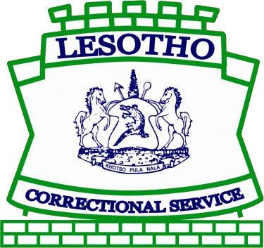 Escudo de LESOTHO CORRECTIONAL SERVICE (LESOTO)