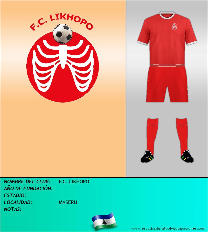 Escudo de F.C. LIKHOPO