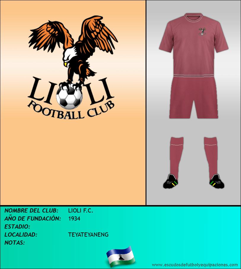 Escudo de LIOLI F.C.
