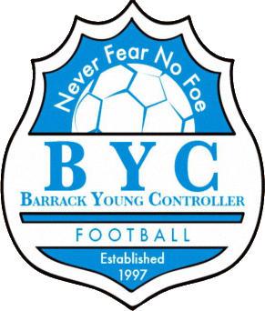 Escudo de BARRACK YOUNG CONTROLLER (LIBERIA)
