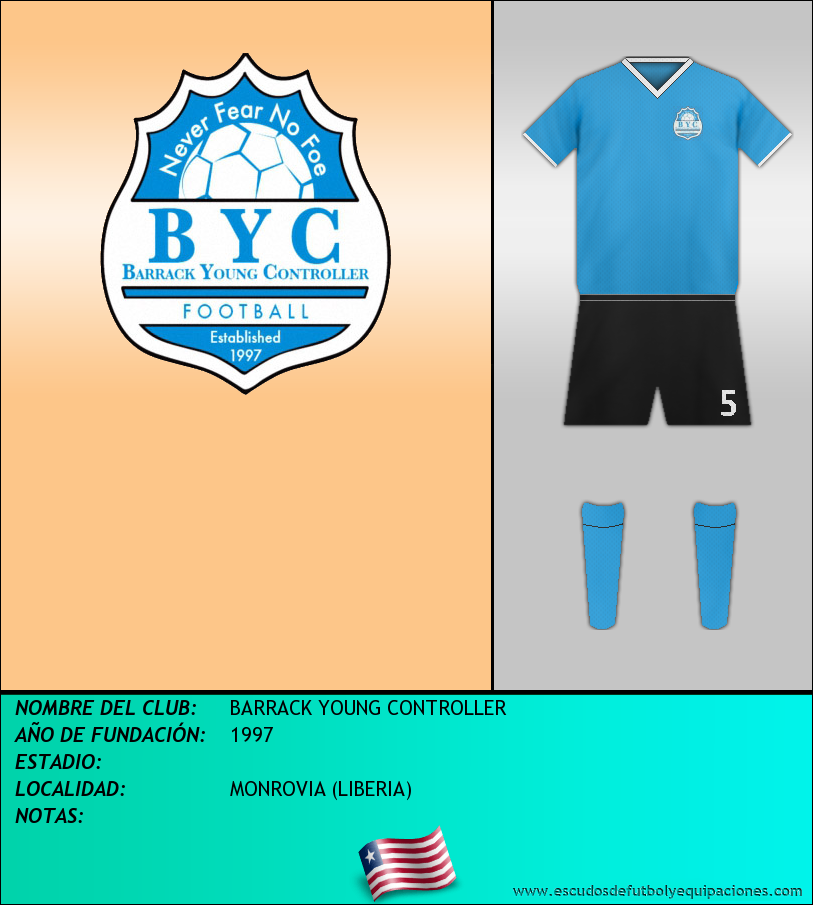 Escudo de BARRACK YOUNG CONTROLLER