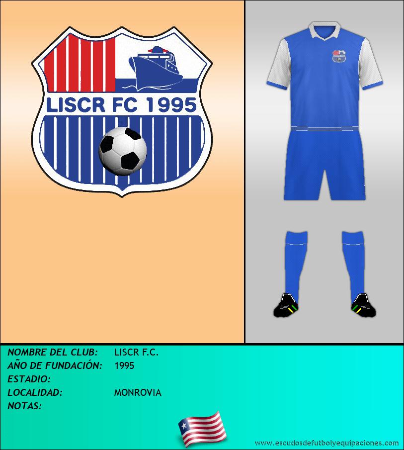 Escudo de LISCR F.C.