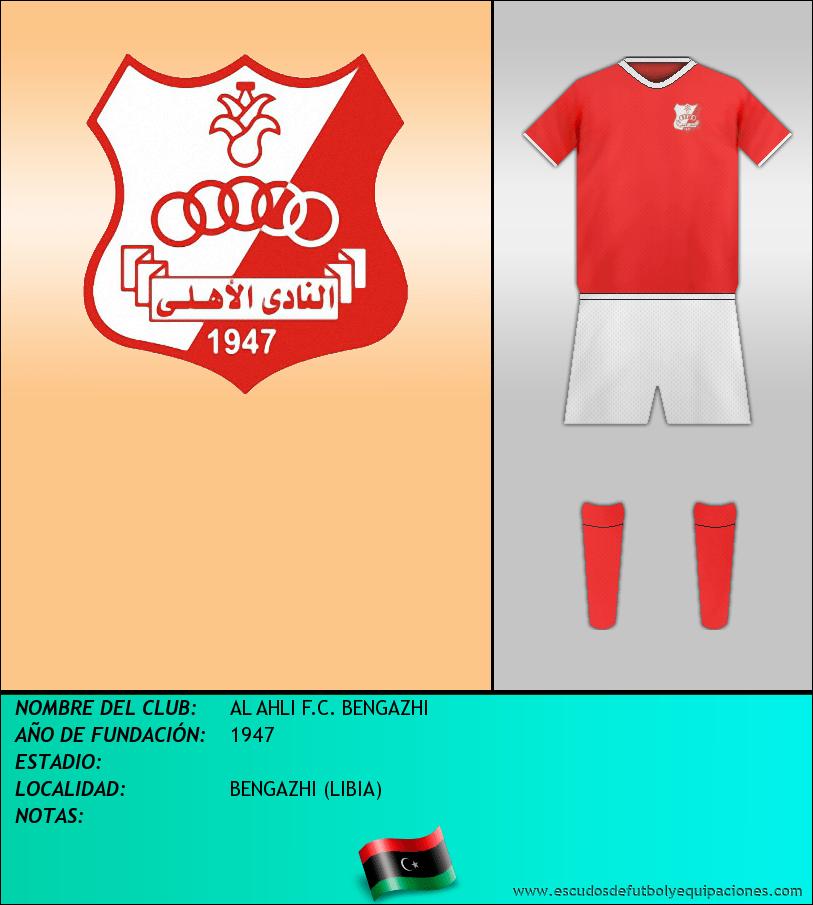 Escudo de AL AHLI F.C. BENGAZHI