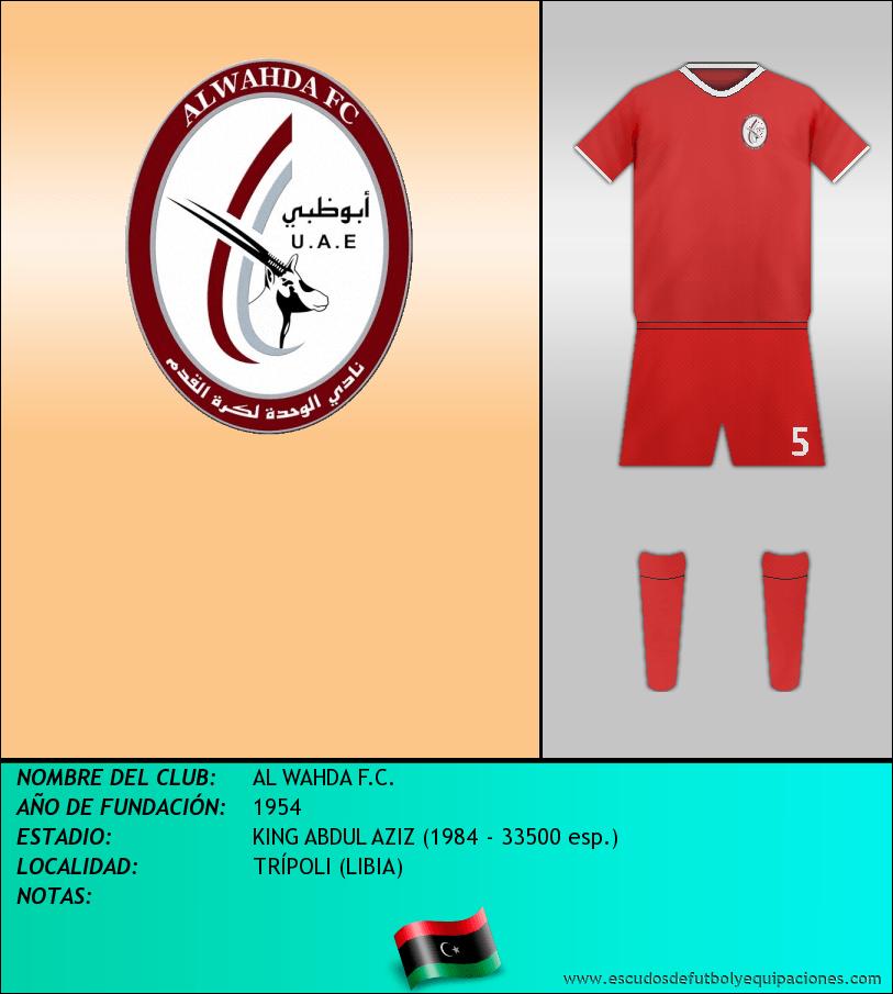 Escudo de AL WAHDA F.C.