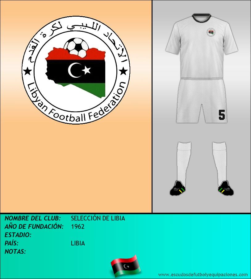 Escudo de SELECCIÓN DE LIBIA
