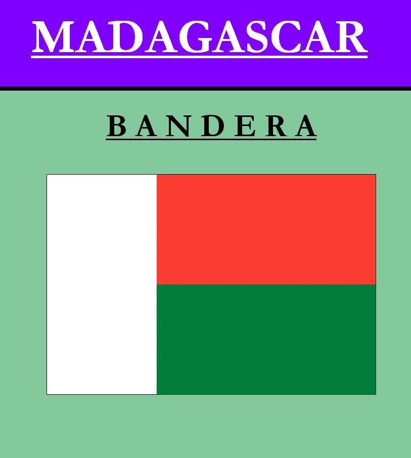 Escudo de BANDERA DE MADAGASCAR