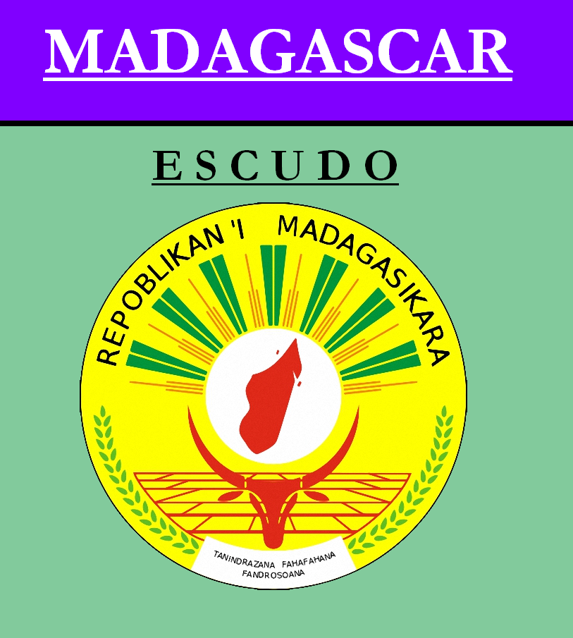 Escudo de ESCUDO DE MADAGASCAR