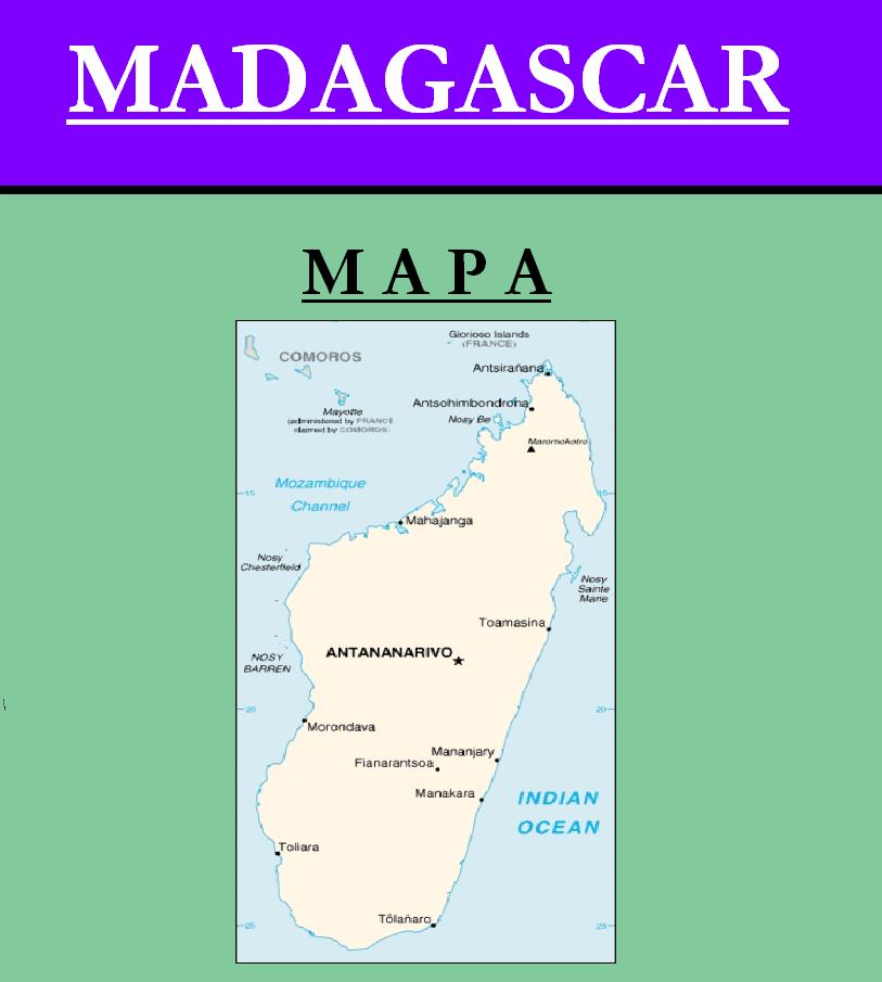 Escudo de MAPA DE MADAGASCAR