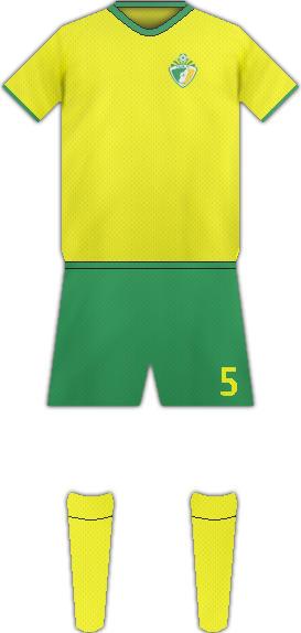 Equipación TANA F.C.