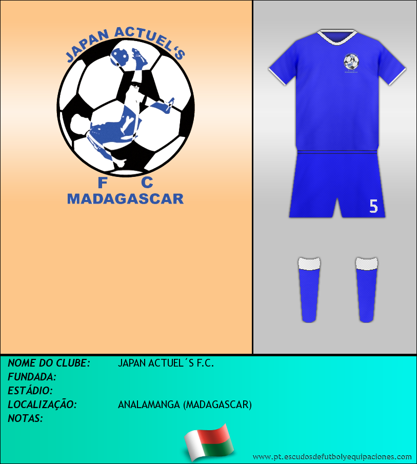 Escudo de JAPAN ACTUEL´S F.C.
