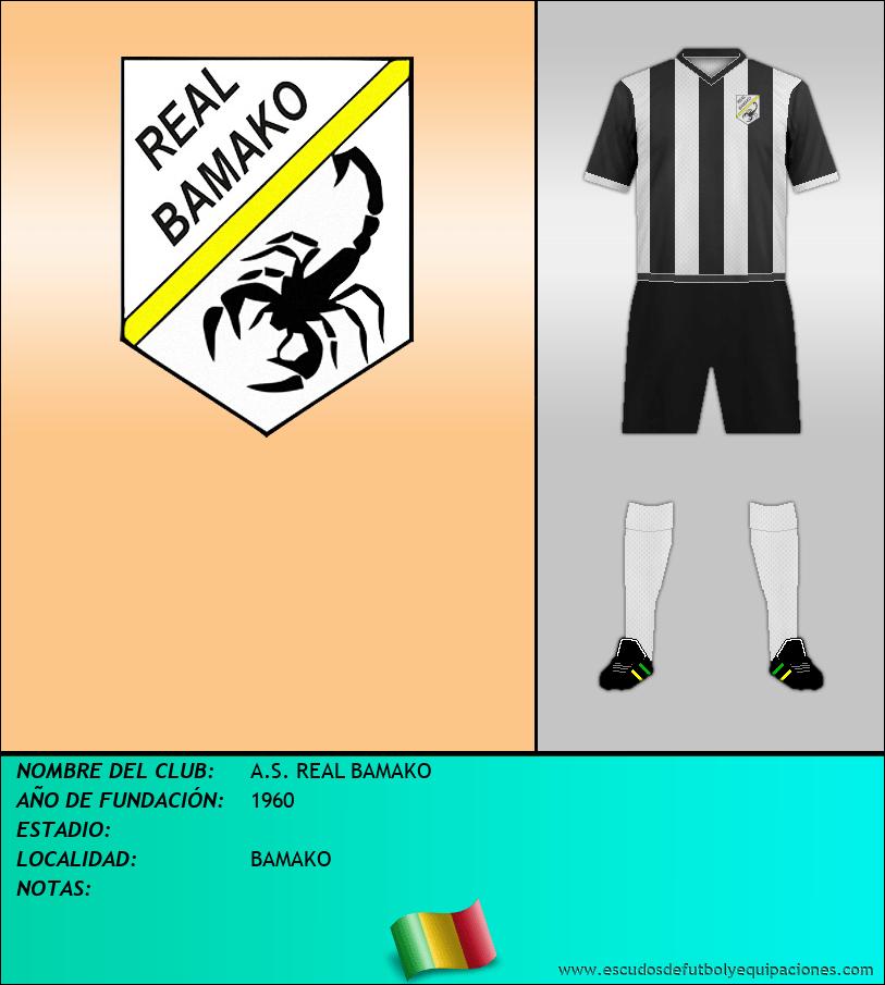Escudo de A.S. REAL BAMAKO