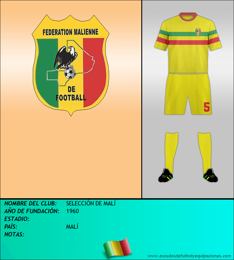 Escudo de SELECCIÓN DE MALÍ