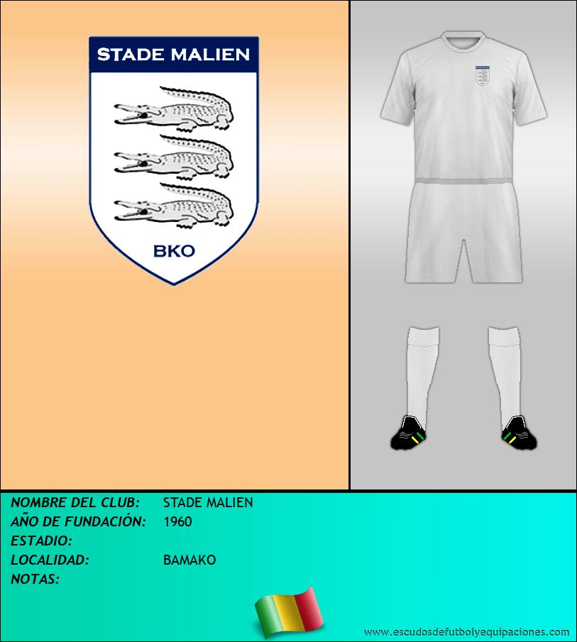 Escudo de STADE MALIEN