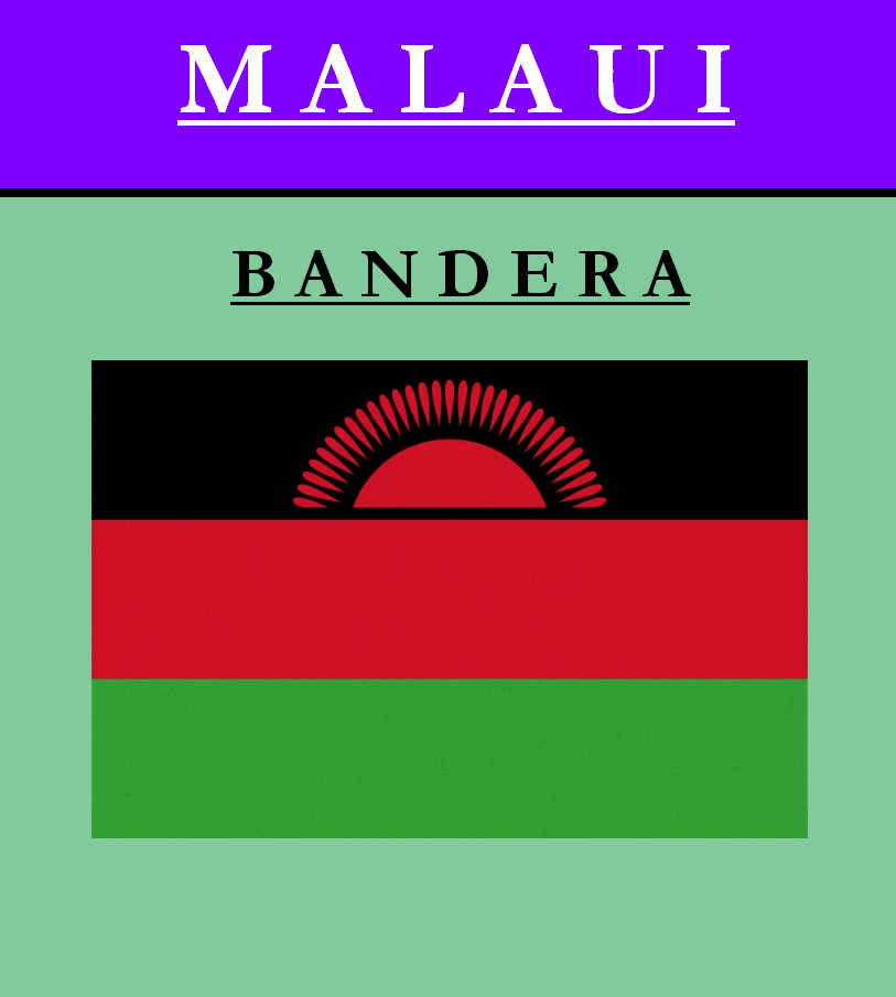 Escudo de BANDERA DE MALAUI