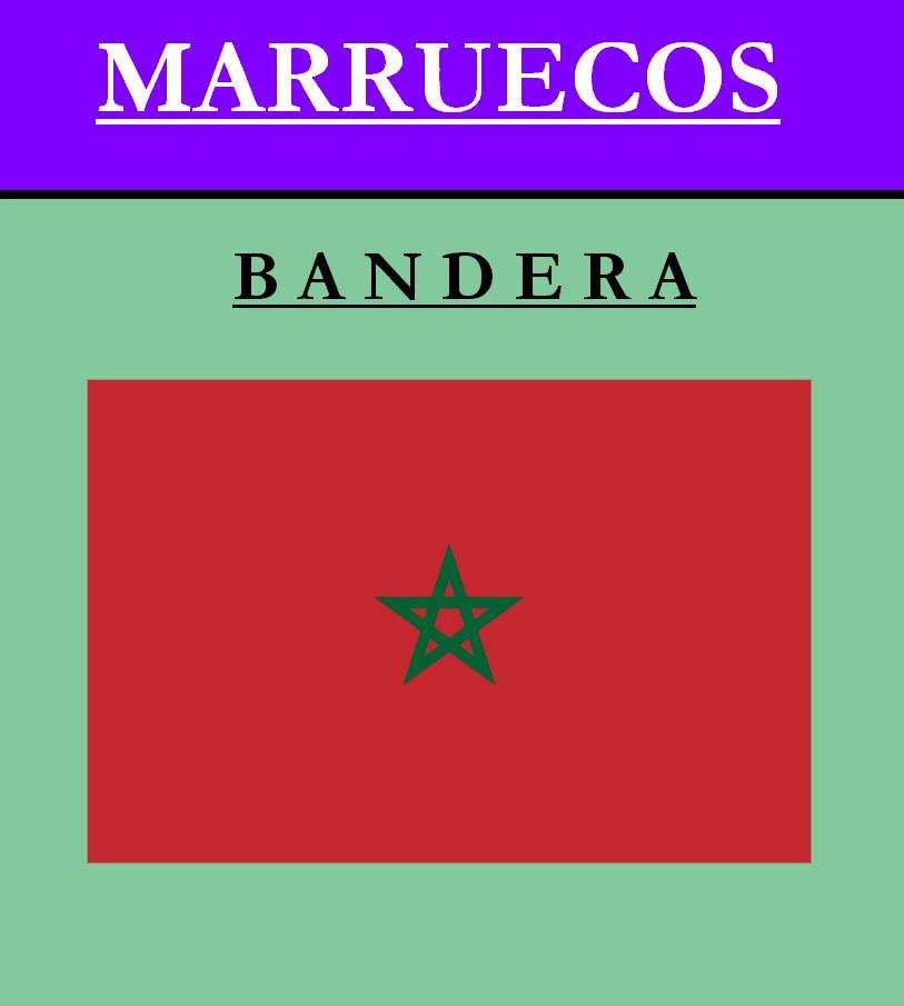 Escudo de BANDERA DE MARRUECOS