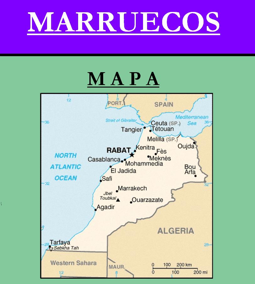 Escudo de MAPA DE MARRUECOS
