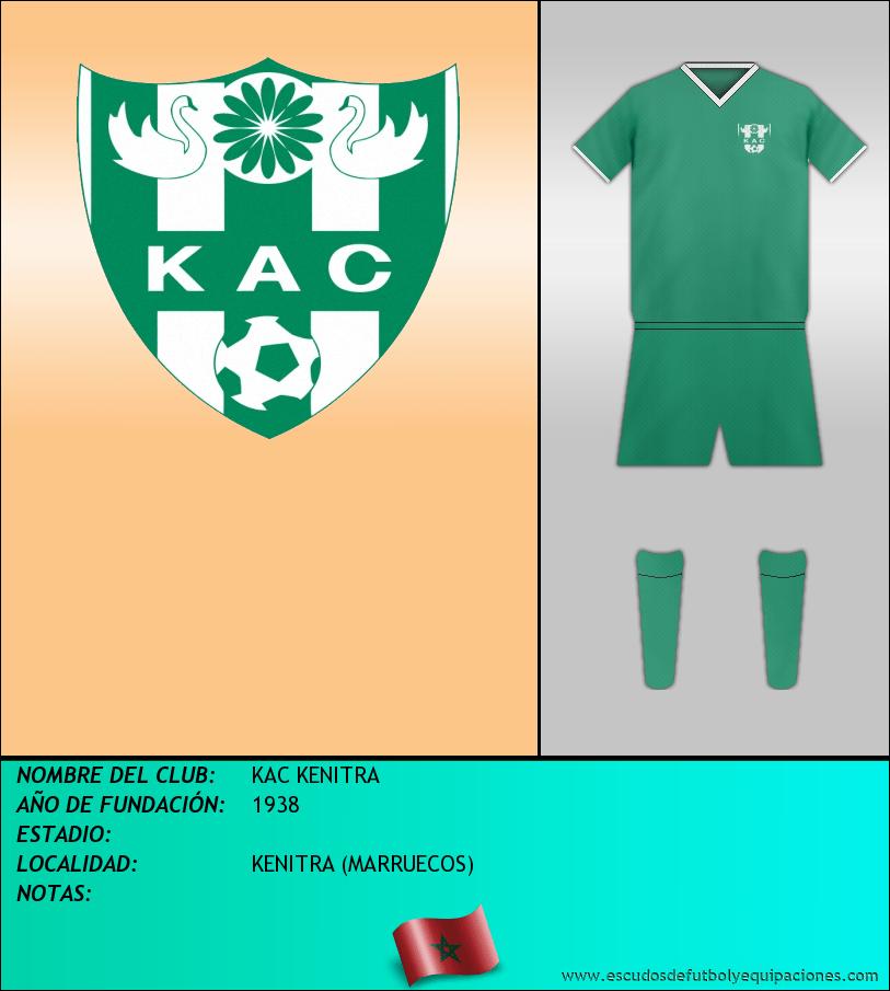 Escudo de KAC KENITRA