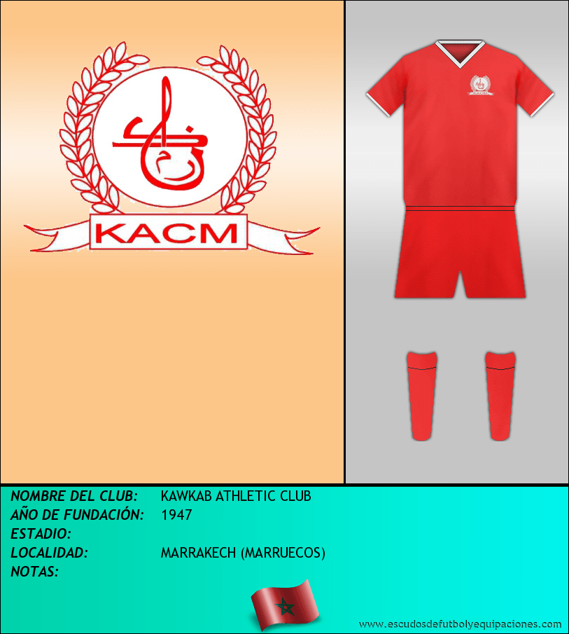 Escudo de KAWKAB ATHLETIC CLUB