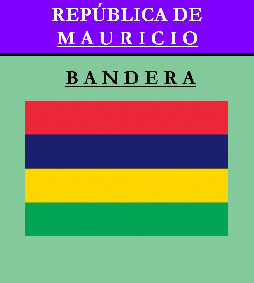 Escudo de BANDERA DE MAURICIO