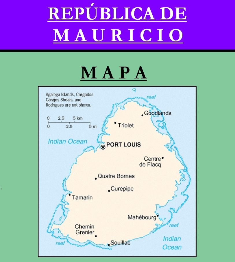 Escudo de MAPA DE MAURICIO