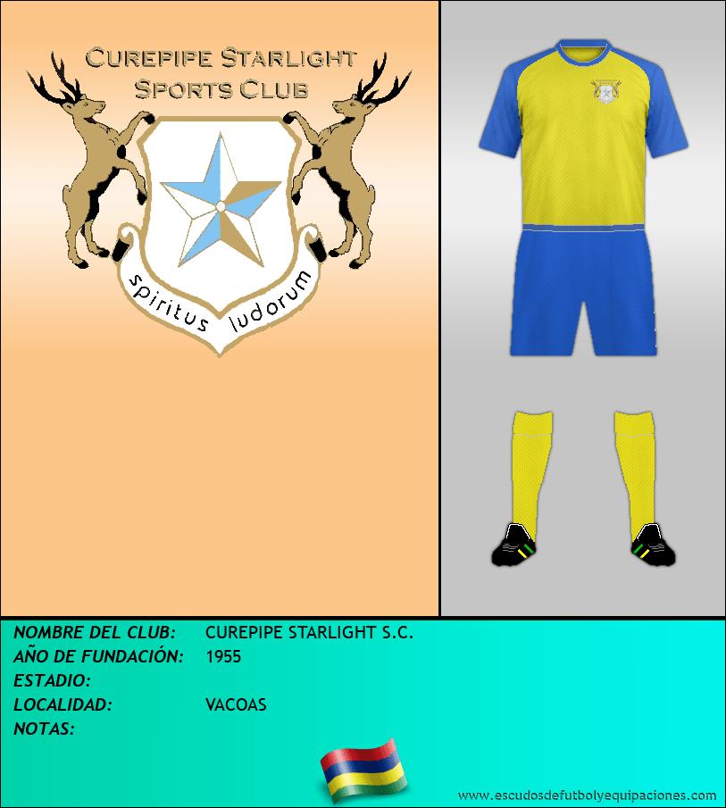 Escudo de CUREPIPE STARLIGHT S.C.