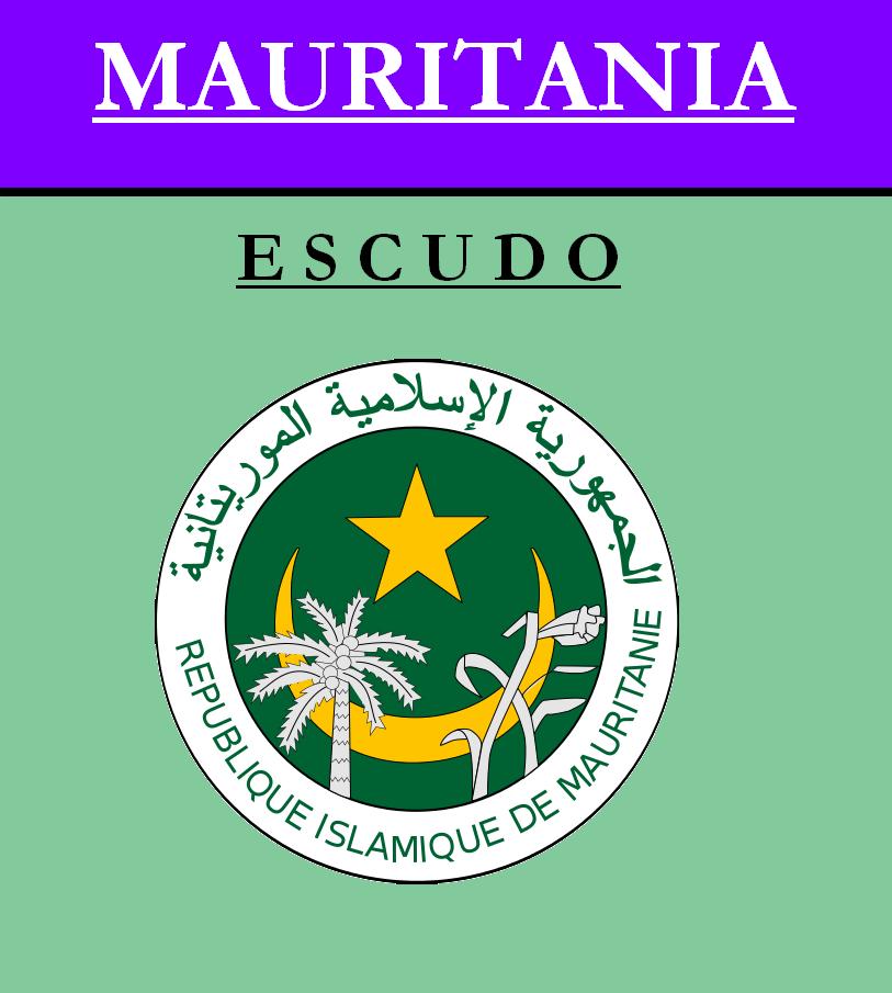 Escudo de ESCUDO DE MAURITANIA