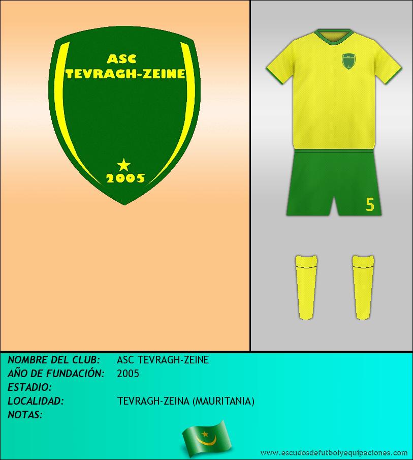 Escudo de ASC TEVRAGH-ZEINE