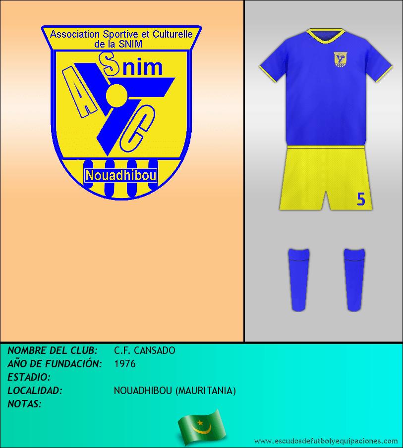 Escudo de C.F. CANSADO