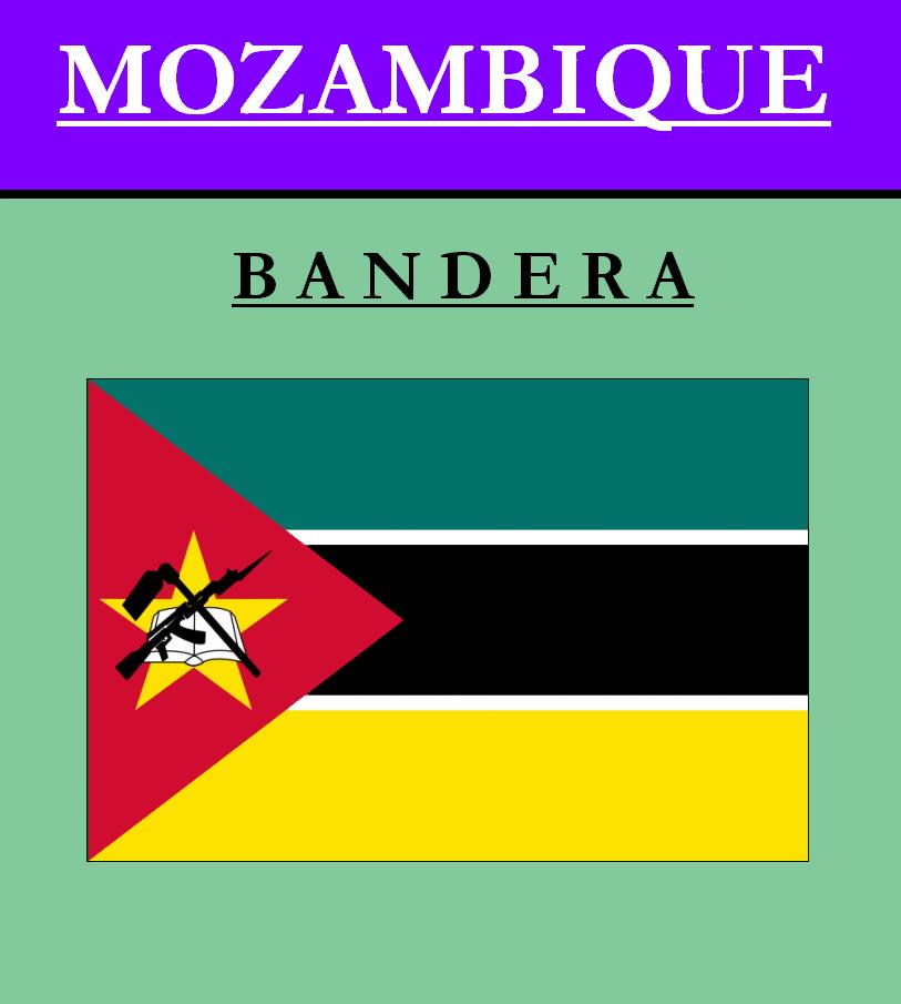 Escudo de BANDERA DE MOZAMBIQUE