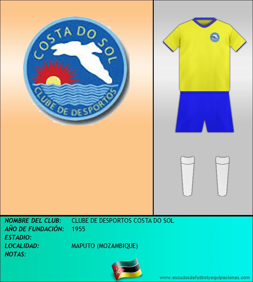 Escudo de CLUBE DE DESPORTOS COSTA DO SOL