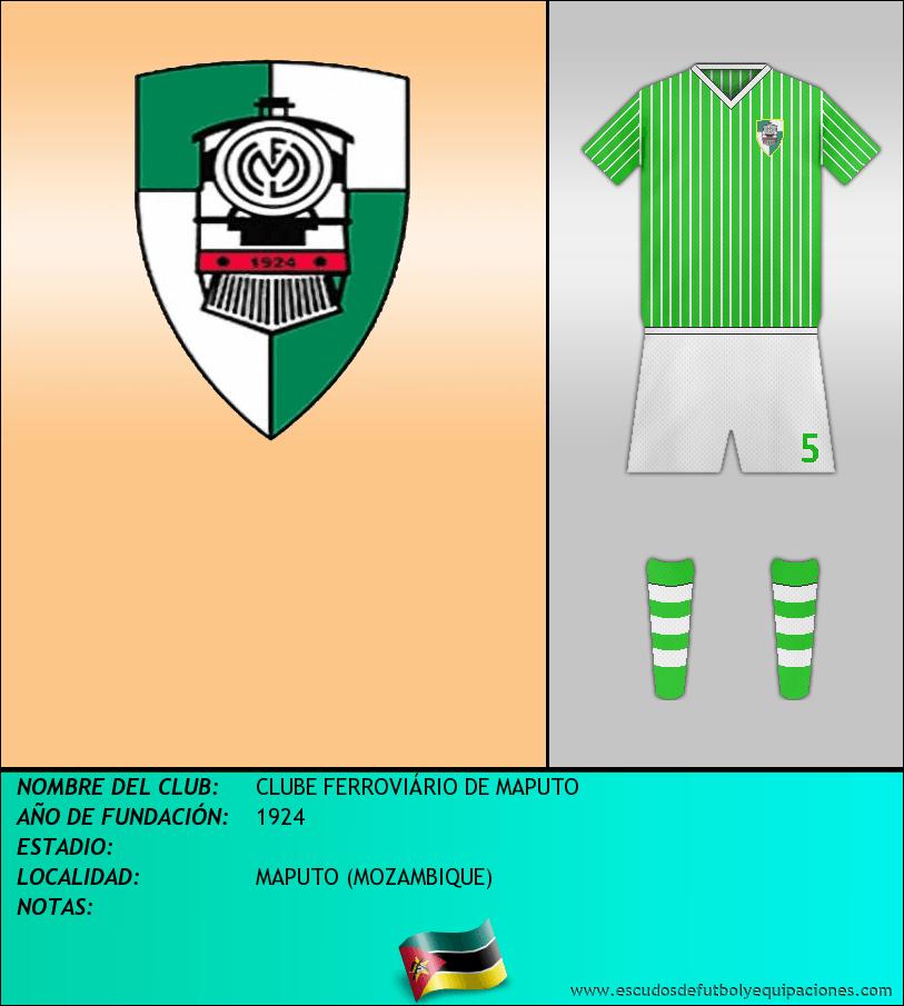 Escudo de CLUBE FERROVIÁRIO DE MAPUTO