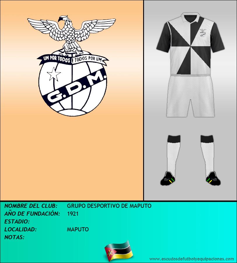 Escudo de GRUPO DESPORTIVO DE MAPUTO