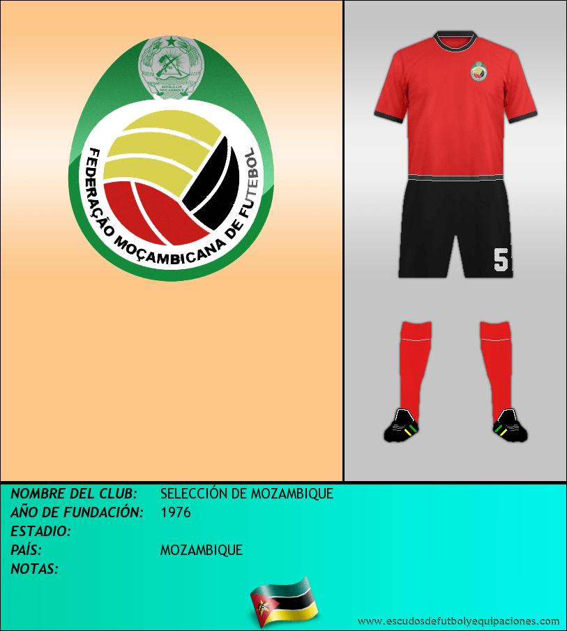 Escudo de SELECCIÓN DE MOZAMBIQUE