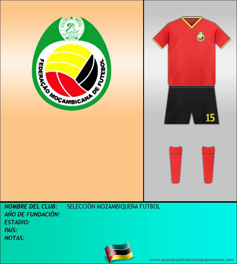 Escudo de SELECCIÓN MOZAMBIQUEÑA FUTBOL
