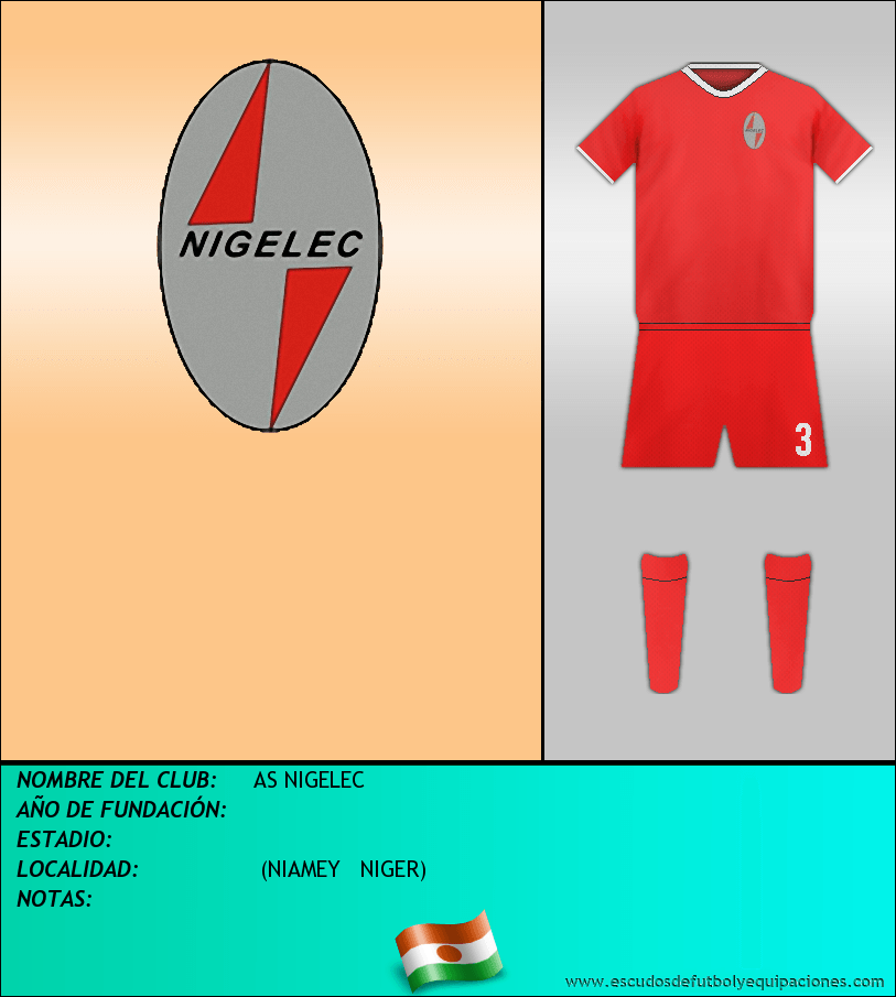 Escudo de AS NIGELEC