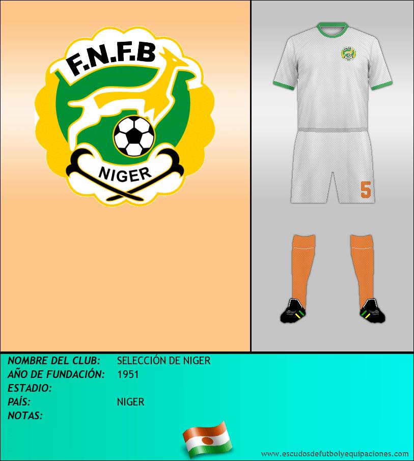 Escudo de SELECCIÓN DE NIGER