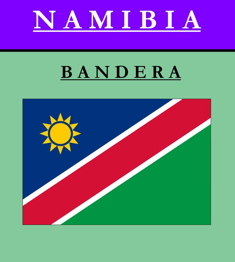 Escudo de BANDERA DE NAMIBIA