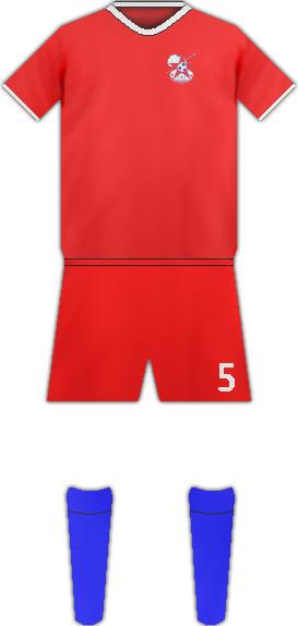 Equipación AFRICAN STARS FC