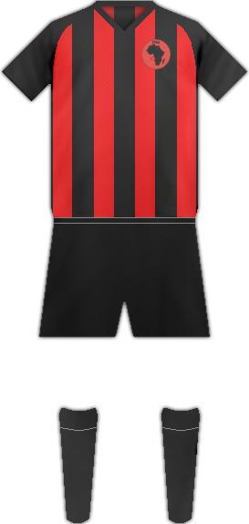 Equipación BLACK AFRICA FC