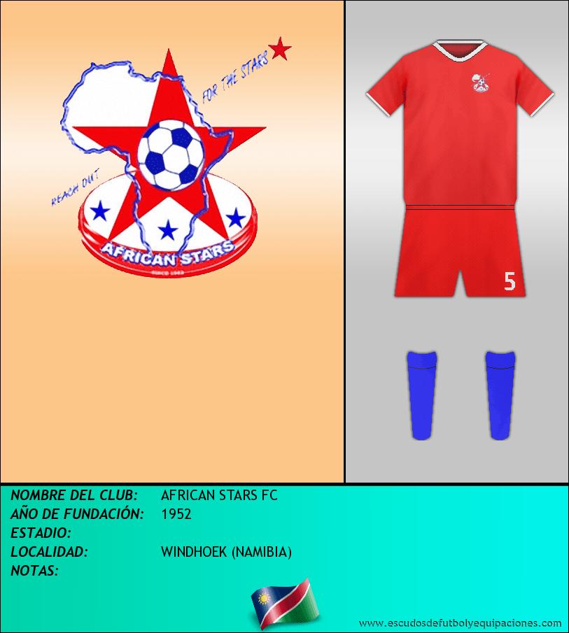 Escudo de AFRICAN STARS FC