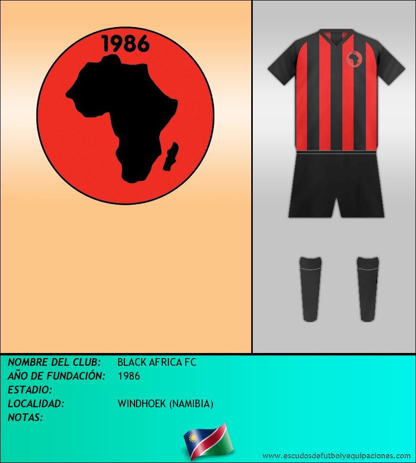 Escudo de BLACK AFRICA FC