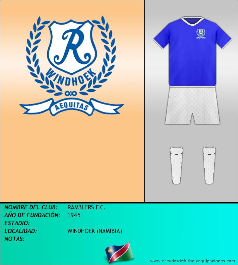 Escudo de RAMBLERS F.C.